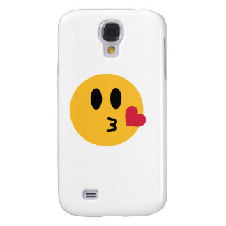 Smiley heart kiss samsung s4 case