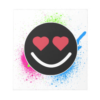 Smiley Heart Notepad