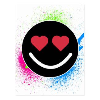 Smiley Heart Postcard