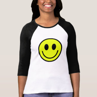 smiley icon grin laugh happy nerd geek modern T-Shirt