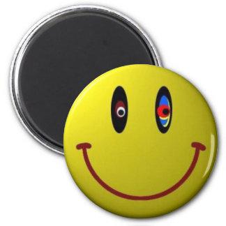 Smiley Imán Redondo 5 Cm