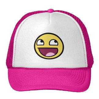 Smiley impresionante gorras de camionero