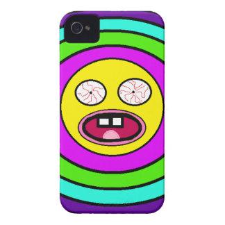 Smiley insano iPhone 4 Case-Mate cobertura