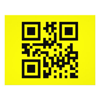 Smiley Inverted ☻ Happy Face -- QR Code Flyer