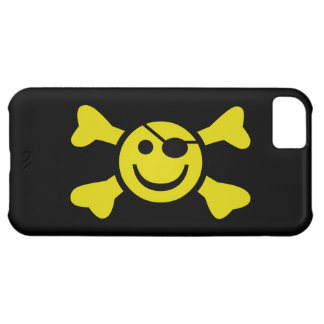 Smiley Jolly Roger iPhone 5C Cover