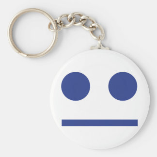 smiley keychain