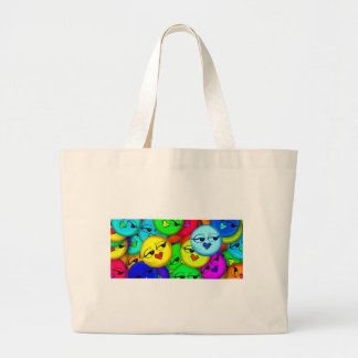 Smiley Large Tote Bag