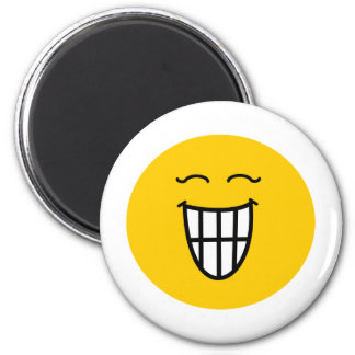 Smiley Laughing with toothy smile Magnet