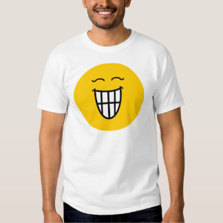 Smiley Laughing with toothy smile Shirt