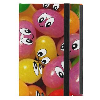 Smiley lindos de la haba de jalea iPad mini protectores
