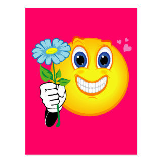 Smiley Love Postcard