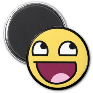 smiley magnet