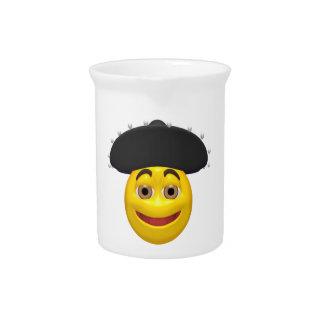 Smiley mexicano jarra