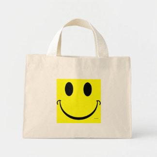 Smiley Mini Tote Bag