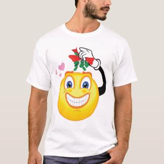 Smiley Mistletoe T-Shirt