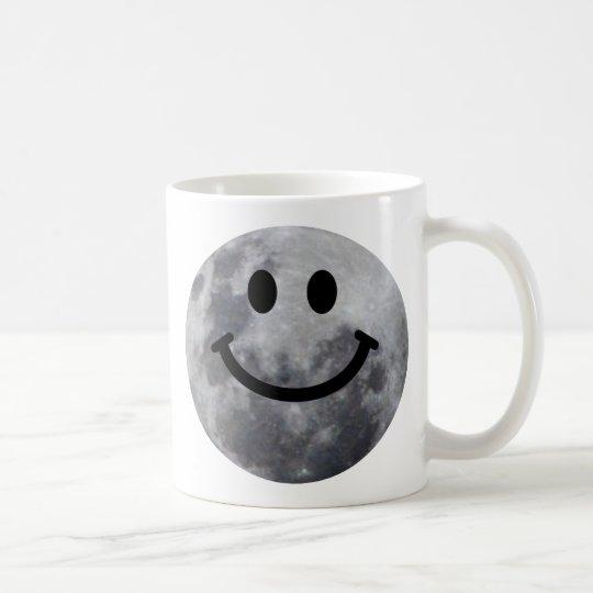 Smiley Moon Coffee Mug