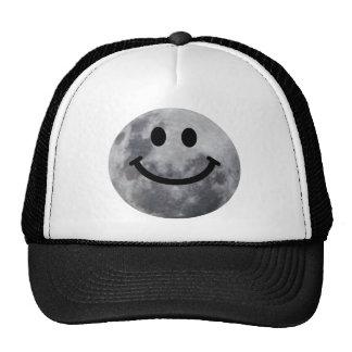 Smiley Moon Trucker Hat