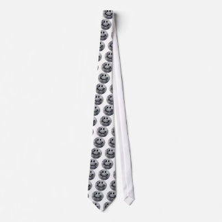 Smiley Moon Neck Tie