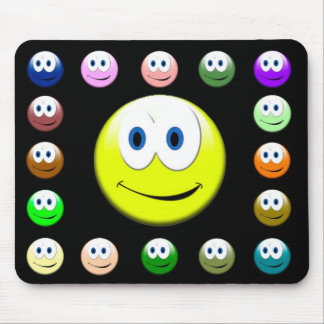 Smiley Mouse Pad