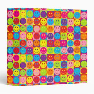 Smiley multicolores del estallido