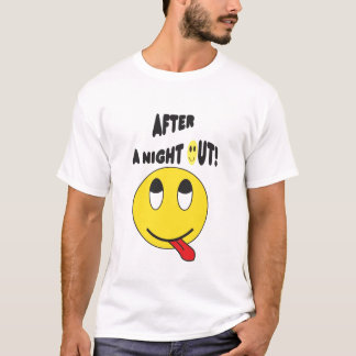 smiley night out T-Shirt