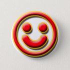 Smiley No. 1 Button