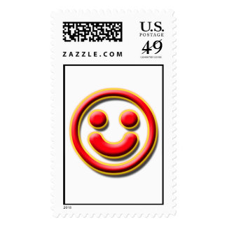 Smiley No. 1 Postage Stamp