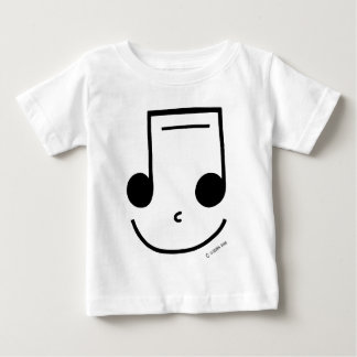 Smiley Notes Baby T-Shirt