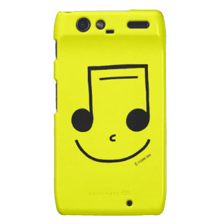 Smiley Notes! Droid RAZR Cases