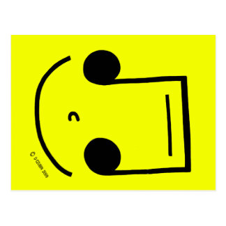 Smiley Notes! Postcards
