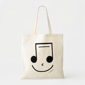 Smiley Notes Tote Bag
