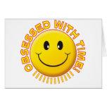 Smiley obsesionado tiempo