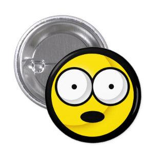 ¡Smiley oh! Botón Pin Redondo De 1 Pulgada
