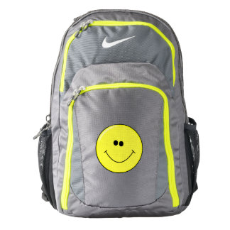 Smiley on Backpack