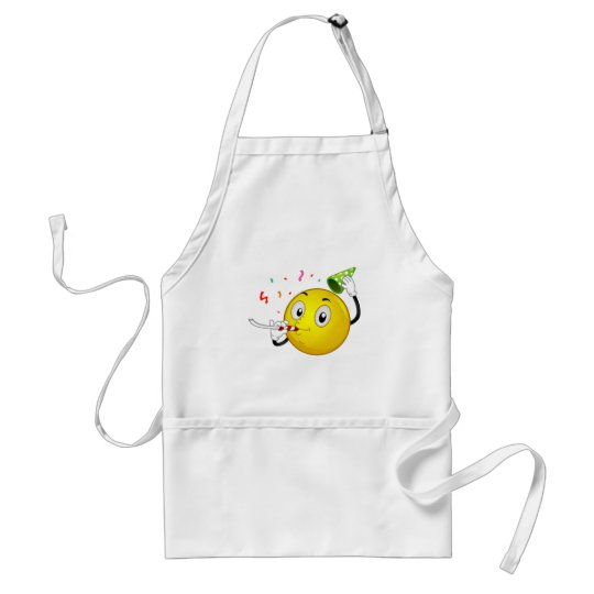 Smiley Party Adult Apron