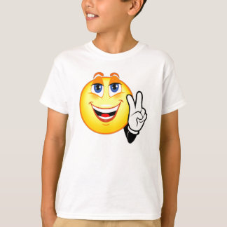 Smiley Peace T-Shirt