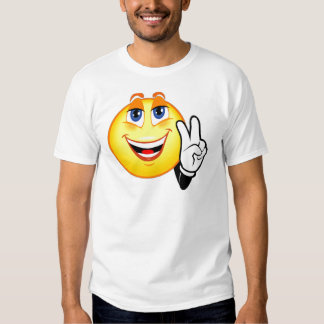 Smiley Peace Tee Shirt