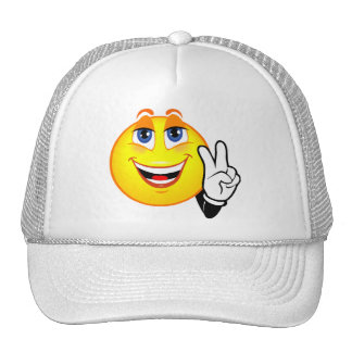 Smiley Peace Trucker Hat