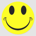 Smiley Pegatinas Redondas