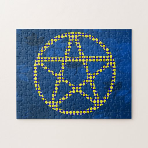 Smiley Pentacle Puzzle