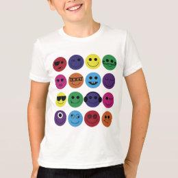 Smiley Personas T-Shirt