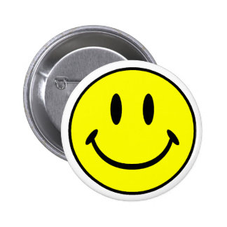 Smiley Pinback Button