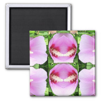 SMILEY Pink Lilly Lily Flowers TEMPLATE Resellers Fridge Magnets
