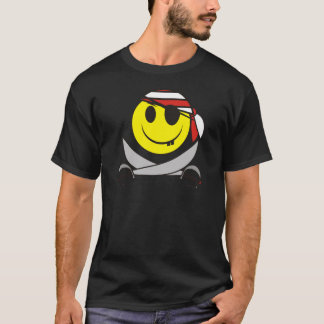 Smiley Pirate 01 T-Shirt