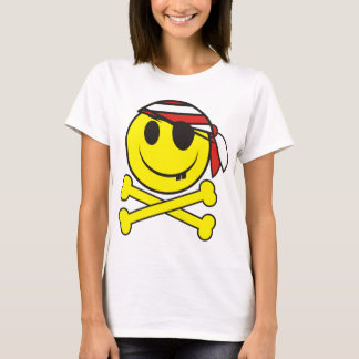 Smiley Pirate 02 T-Shirt