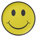 Smiley Plato De Comida