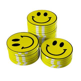Smiley Poker Chips