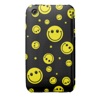 Smiley Polka Dots iPhone 3 Cases