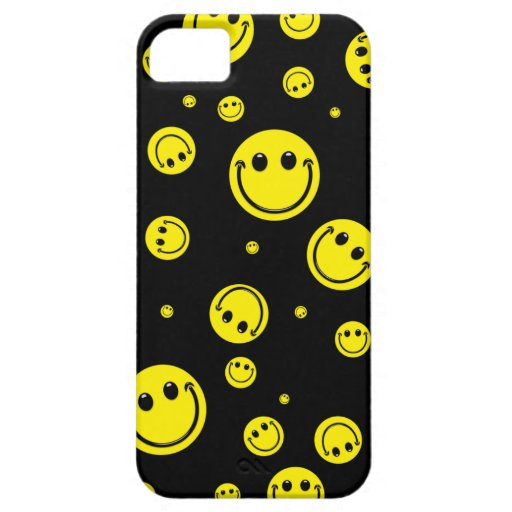 Smiley Polka Dots iPhone 5 Covers