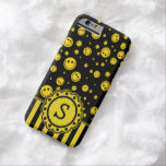 Smiley PolkaDot Monogram Barely There iPhone 6 Case